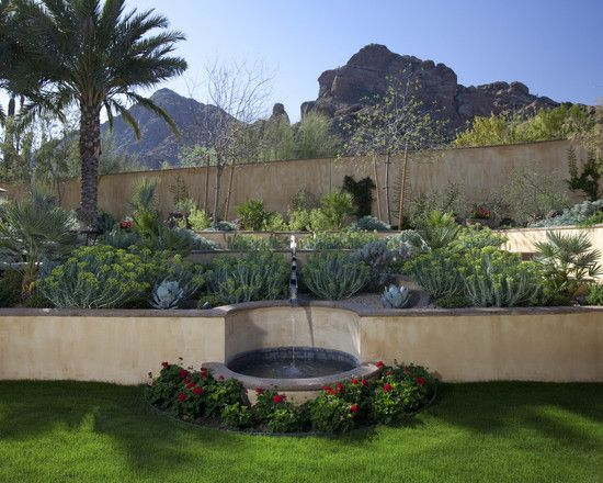 Private Residence   Mediterranean   Landscape   Phoenix   Exteriors By Chad  Robert