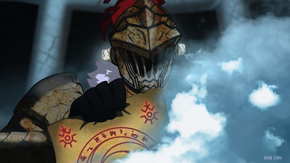 Goblin Slayer Water Scroll Scene Re Draw Goblinslayer Goblin Slayer Scene