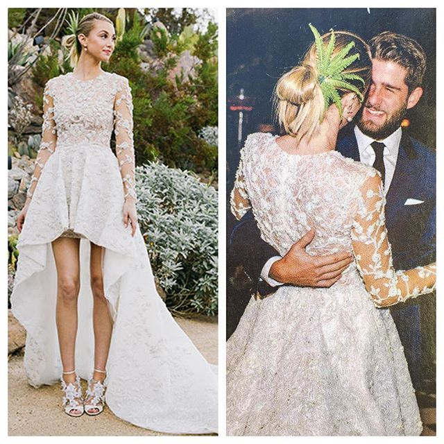 Whitney Port Wedding Look Bohemian Wedding Dresses Celebrity Weddings Wedding