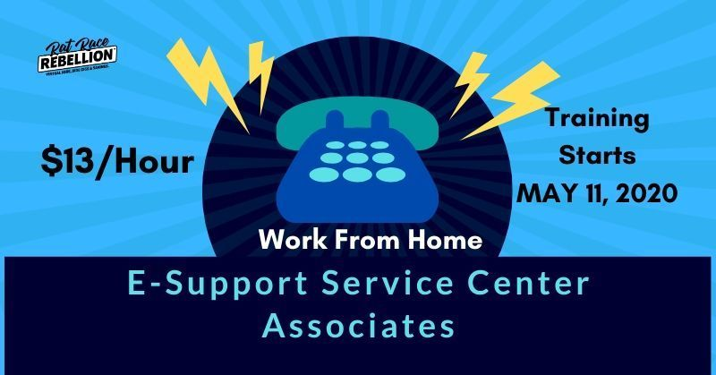 13 Hr Work From Home As An E Support Service Center Associate At