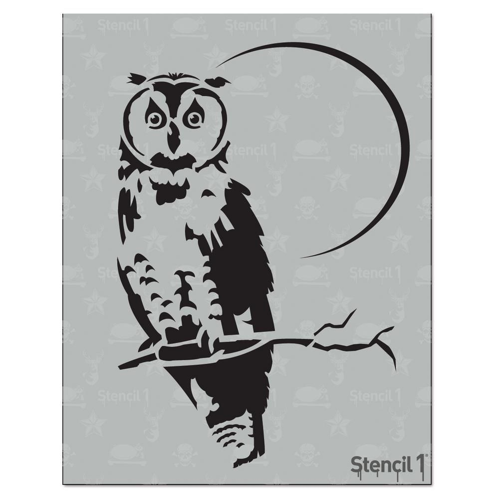Stencil1 Owl Stencil | Owl stencil and Products