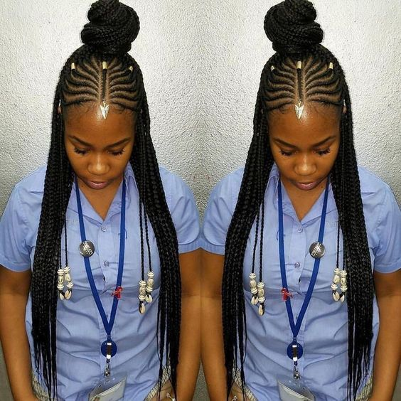 black haircut for 43 fulani braid style inspiration gallery hair 5224