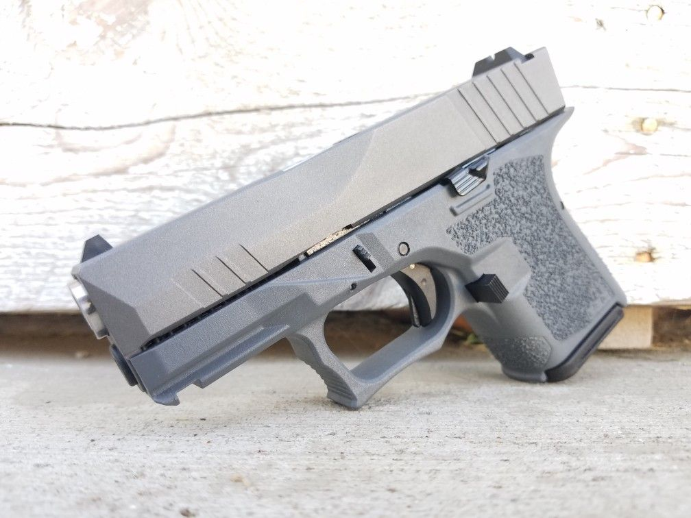 Rock Slide USA Glock 26 with Polymer80 frame and Lone Wolf