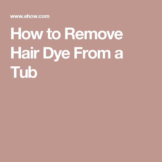 How To Remove Hair Dye From A Varnished Table Best 2017