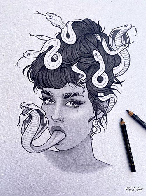Tattoo Illustrations by Rik Lee | Tattoo illustration
