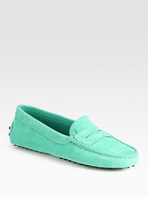 fea78c97180c Tod s Mint Moccasins Shoes Sandals