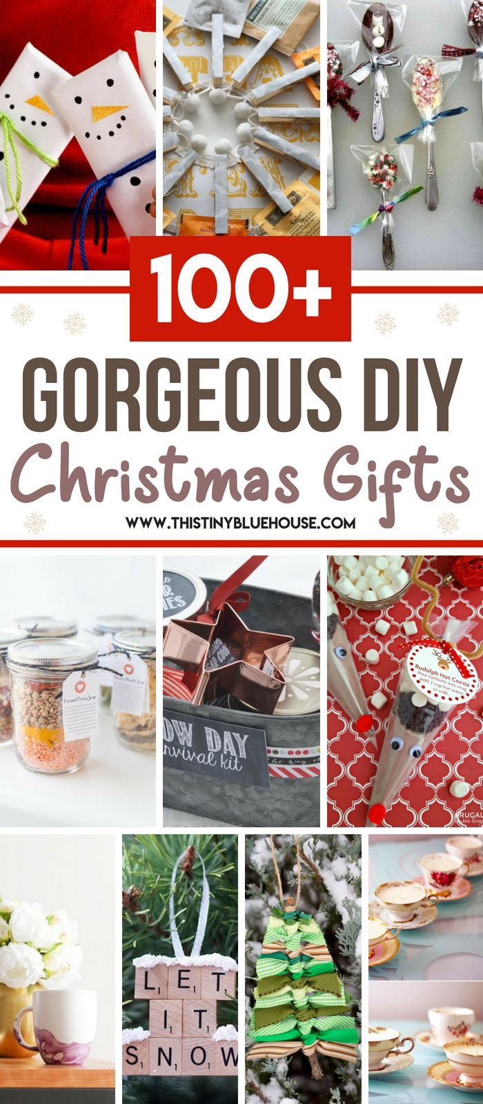 100+ DIY Budget Friendly Christmas Gifts | Things to Make ...