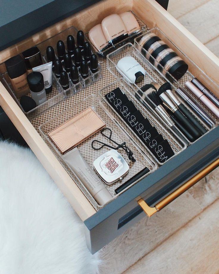 Das Gegenteil von dem, wie meine Make-up-Schubladen in den letzten drei Jahren ausgesehen haben … – Samantha Fashion Life