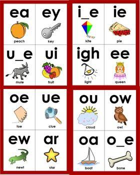 Basic Letter Sounds Phonics Flashcards
