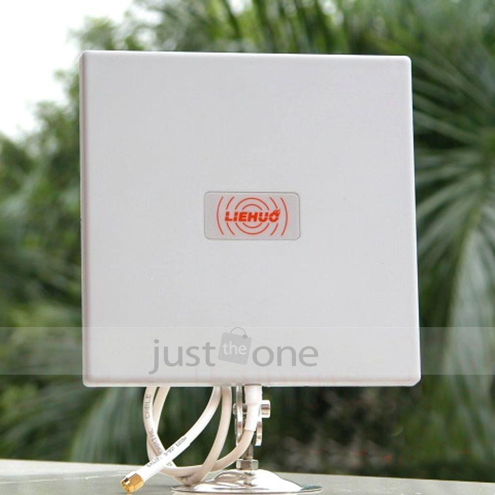 Antenna Panel 2 4ghz 14dbi High Gain Wifi Wlan Extender Directional Long Range Antenna Wifi Wireless Gadgets