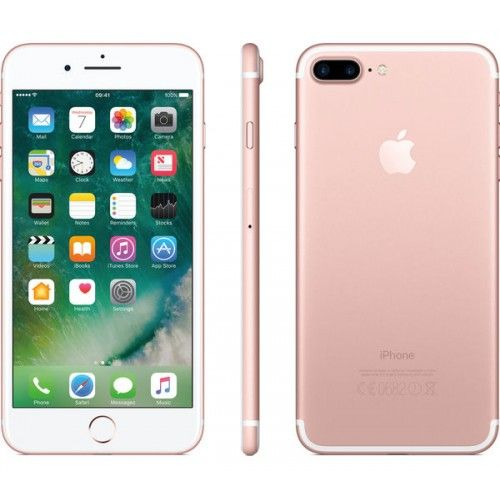APPLE iPhone 7 Plus Rose Gold, 128 GB Iphone, Apple