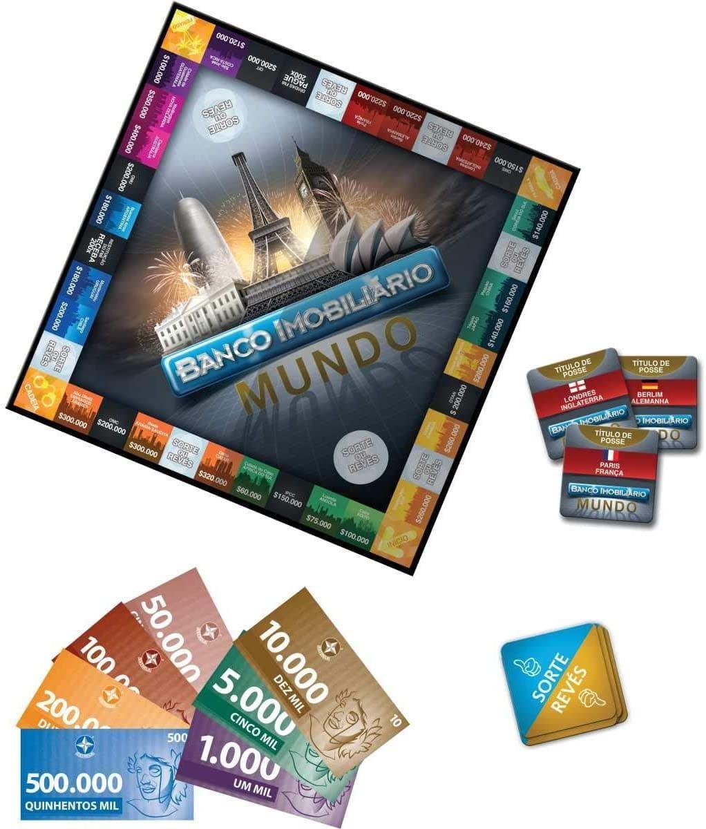 Jogo De Tabuleiro Banco Imobiliario Mundo Estrela Compre Agora Em Nossa Loja Online Acesse Www Vendasbrasilsr Com Br Banco Imobiliario Jogos Jogos Classicos