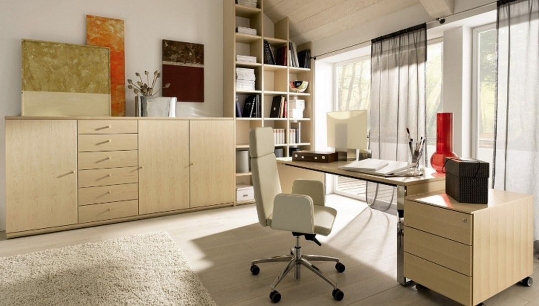 7 Home Office Design With Eco-Friendly Furniture Ideas, # ...