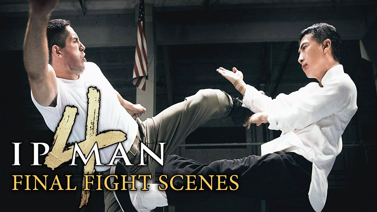 Ip Man 4 Final Fight Scene 2019 Donnie Yen Vs Scott Adkins 4k In 2020 Ip Man Donnie Yen Man