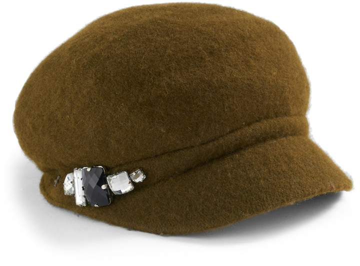 f2a263c351a39 Betmar Women s Rhinestone Cadet Hat