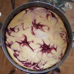 Tasty recipe for Raspberry Cheesecake