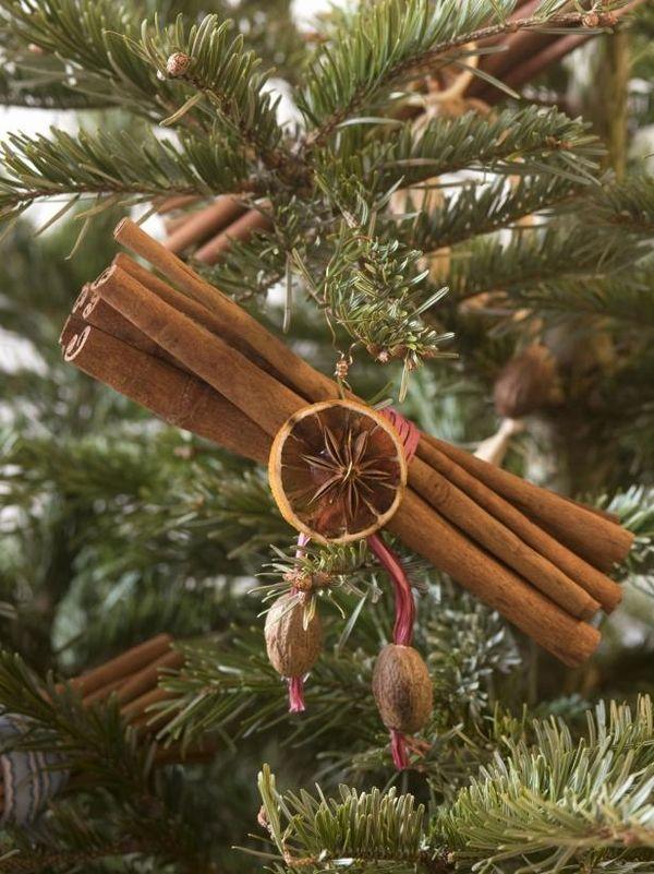Christmas Craft Ideas Natural Materials Diy Christmas Tree Ornaments Spice Bundle Cinna Natural Christmas Ornaments Natural Christmas Decor Christmas Ornaments