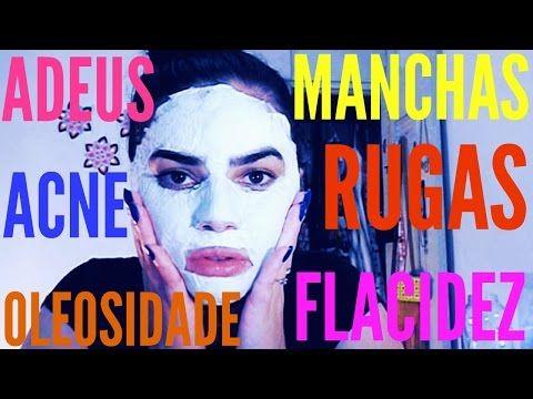 Mascara De Farinha De Arroz Para Clarear Rejuvenecer E Tonificar A