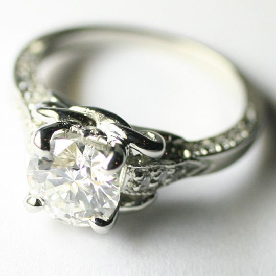 dazzling engagement rings 21st century heirlooms - Hippie Wedding Rings