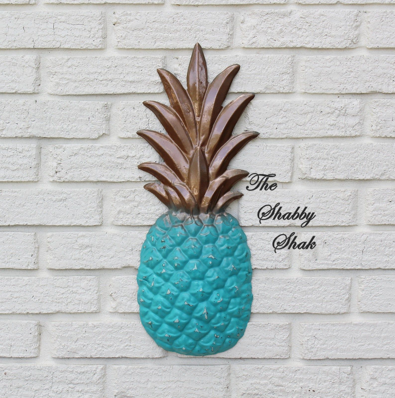 Pineapple Wall Decor ~Large Metal Pineapple Wall Decor~Pineapple Kitchen Decor~P...#decor #decorp #decorpineapple #kitchen #large #metal #pineapple #wall