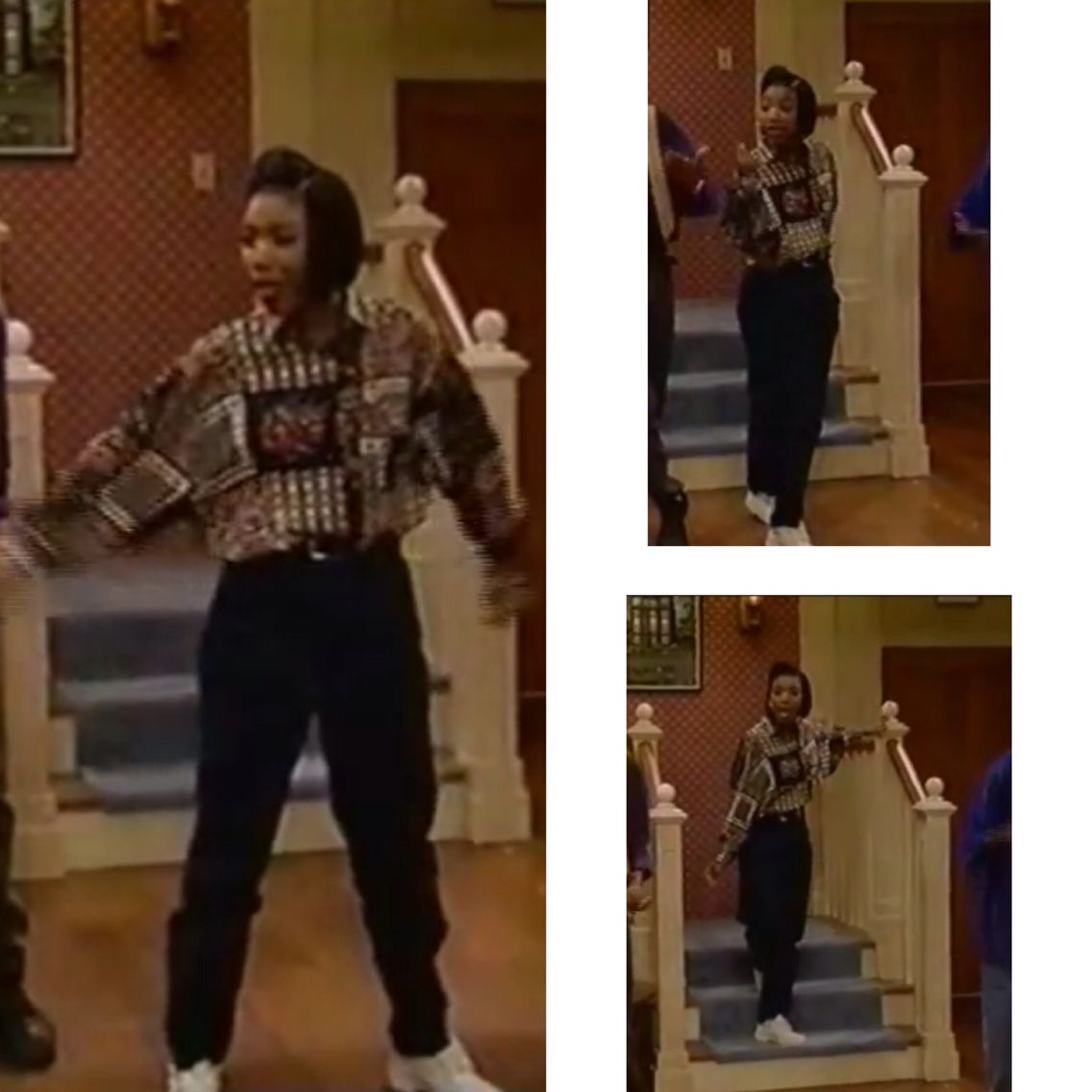 Brandy singing respect on thea (With images) | 90s fashion ...