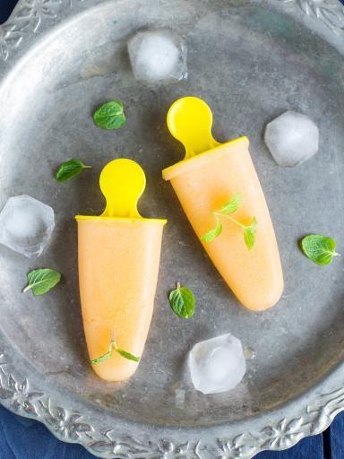 sorbet ou granit u00e9 au melon