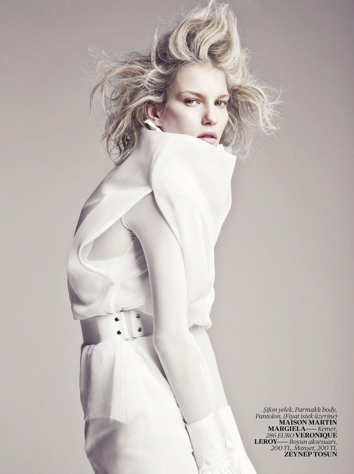 Марик Шиммель (Marique Schimmel) для Vogue Turkey, апрель