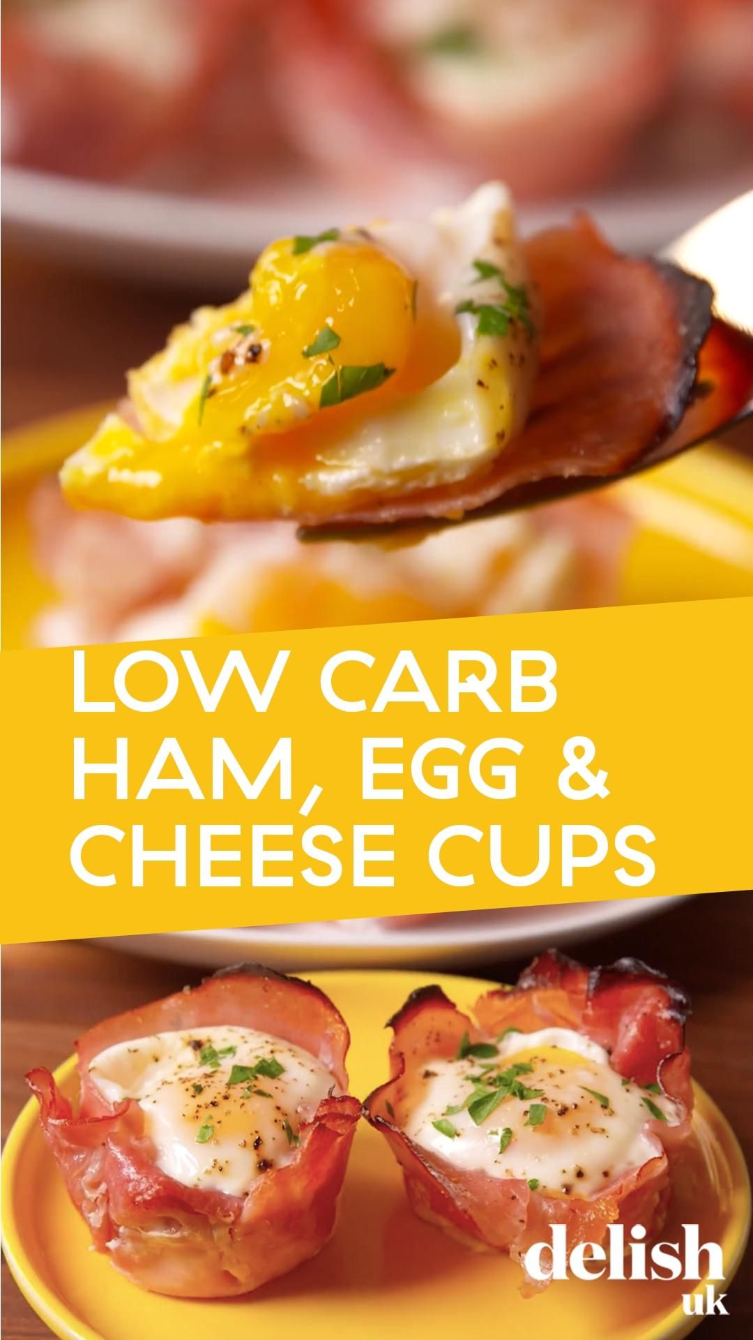 Ham, Cheese & Egg Cups