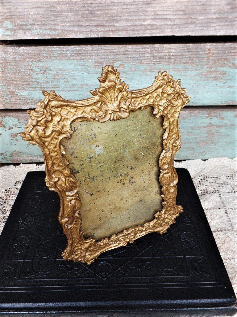 Beautiful Gold Gilt Photo Picture Wall Hanging Frame Rococo Baroque Style 8 X 6