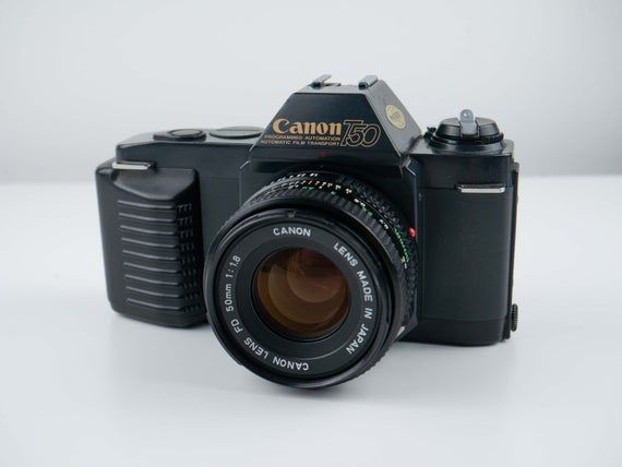 Canon T50 With Canon FD 50mm f/1.8 Lens Fully working