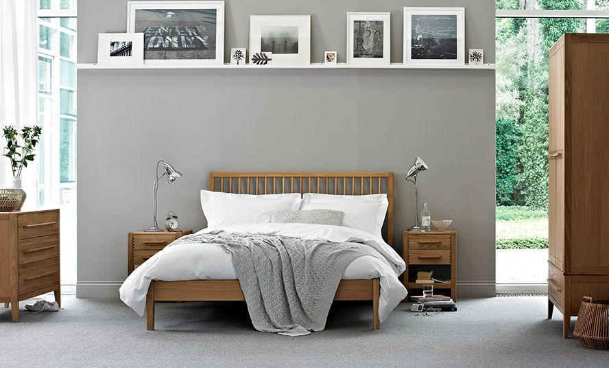 Doppel Bett Standard Modern Holz Pimlico Ercol