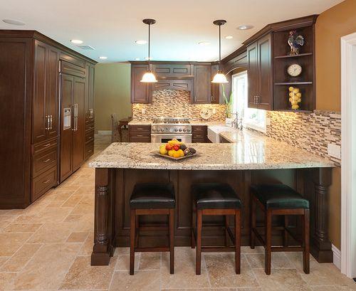 best 25 kitchen island bar ideas on pinterest kitchen islands kitchen island bar height and. Black Bedroom Furniture Sets. Home Design Ideas