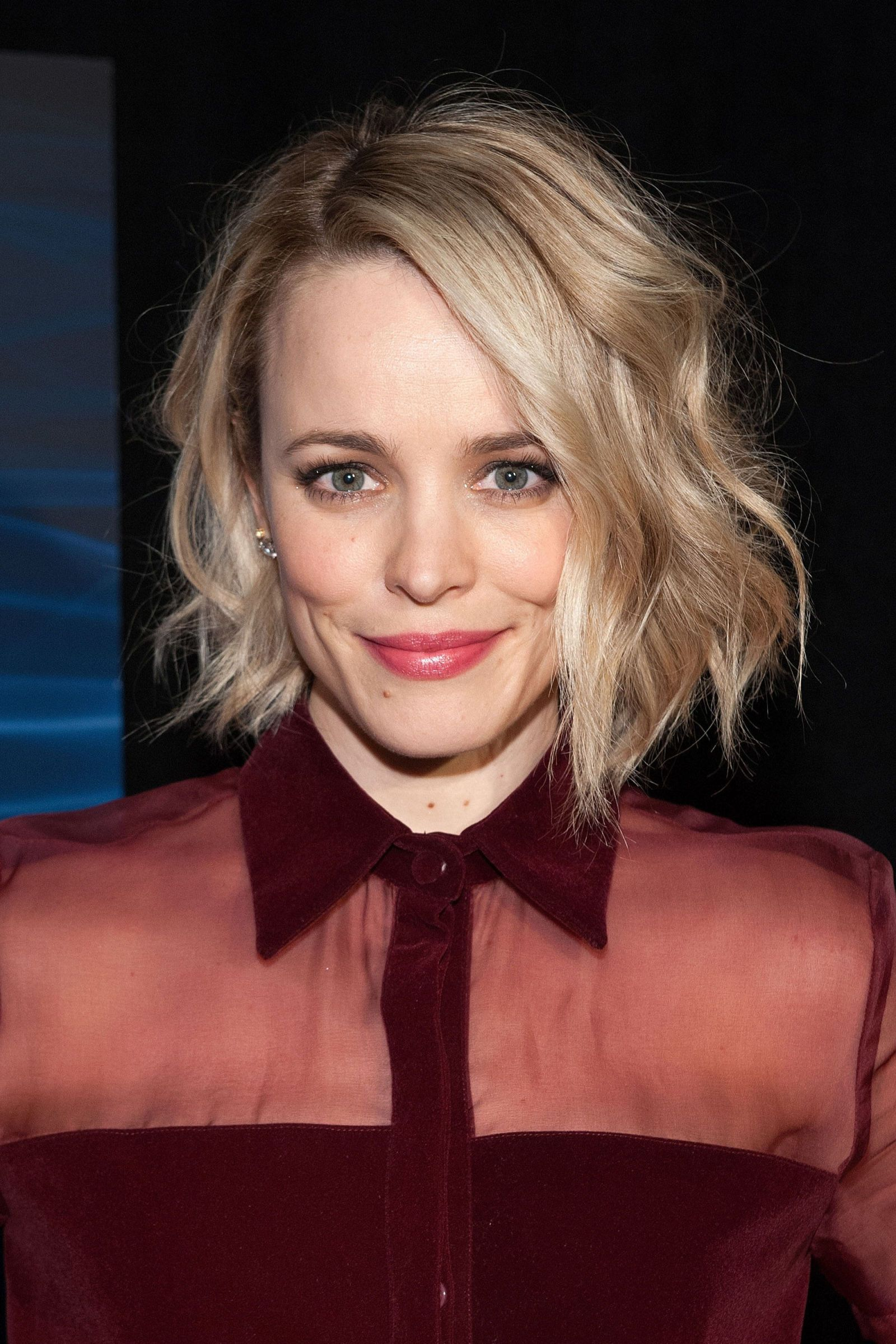 Rachel Mcadams The Best Celebrity Bob Haircuts To Try This Fall