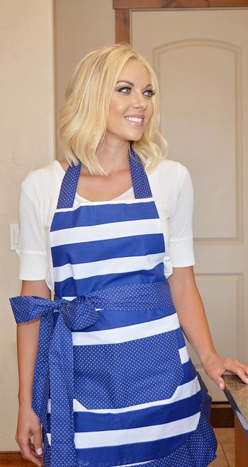 Nautical Navy Women's Apron is now 35% off!!!!  Use coupon code EVERYTHING35 now!!!