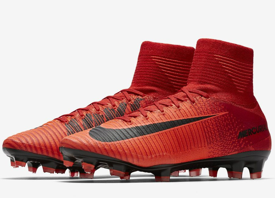 bf49a387475  football  soccer  futbol  nikefootball Nike Mercurial Superfly V FG Fire    Ice - University Red   Bright Crimson   Black
