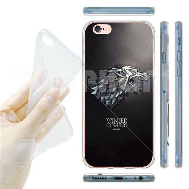 Game of Throne CHOOSE YOUR HOUSE Soft Ultra Phone Case for iPhone SE 5