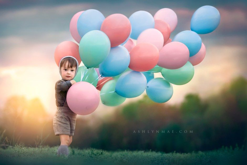 idee inspiration f r ein fotoshooting mit kind ballons kinderfotoshooting kinderfotos. Black Bedroom Furniture Sets. Home Design Ideas
