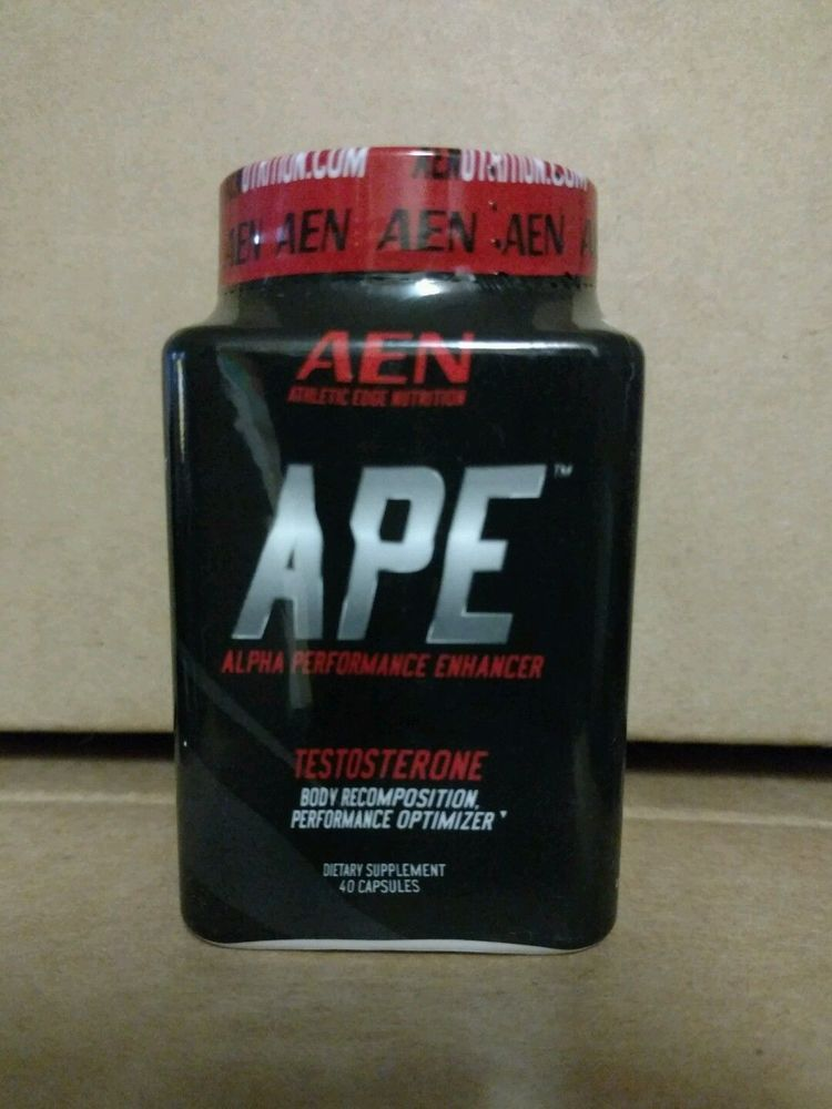Athletic Edge Nutrition APE TESTOSTERONE BOOSTER 40 Caps