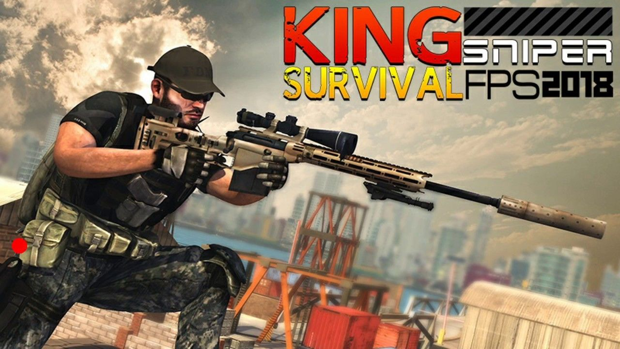 King Sniper FPS Survival 2018. Android game (played on