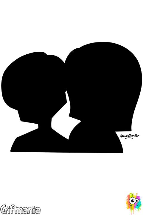 Dibujo De Enamorados De Britto Para Colorear Romero Britto Britto Arte Elemental