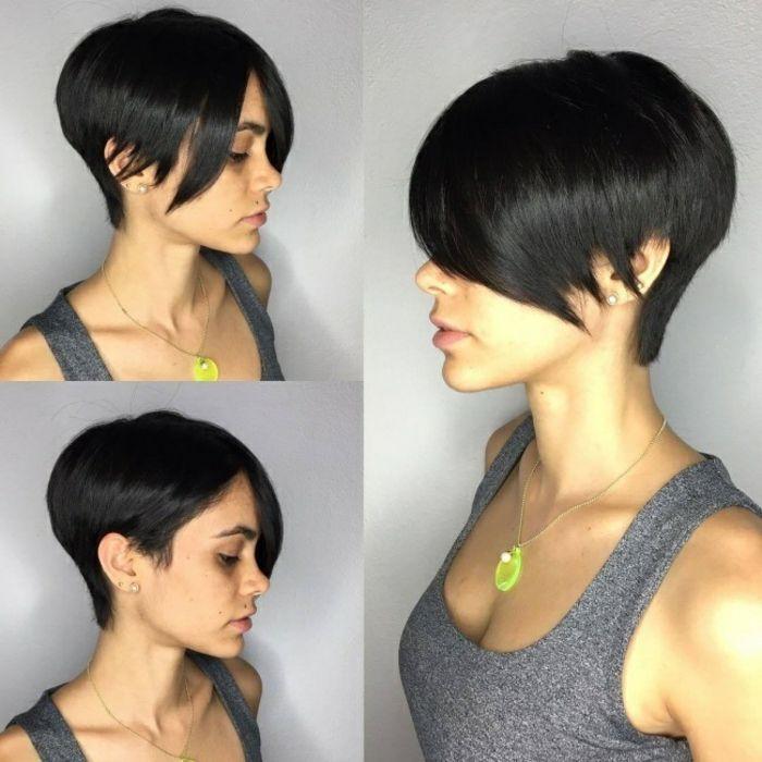 1001+ Idées pour une coupe asymétrique + les coiffures de