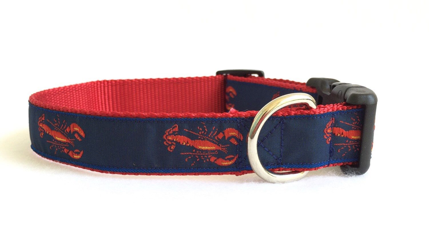 Lobster Dog Collar Preppy Dog Collar Nautical Dog Collar