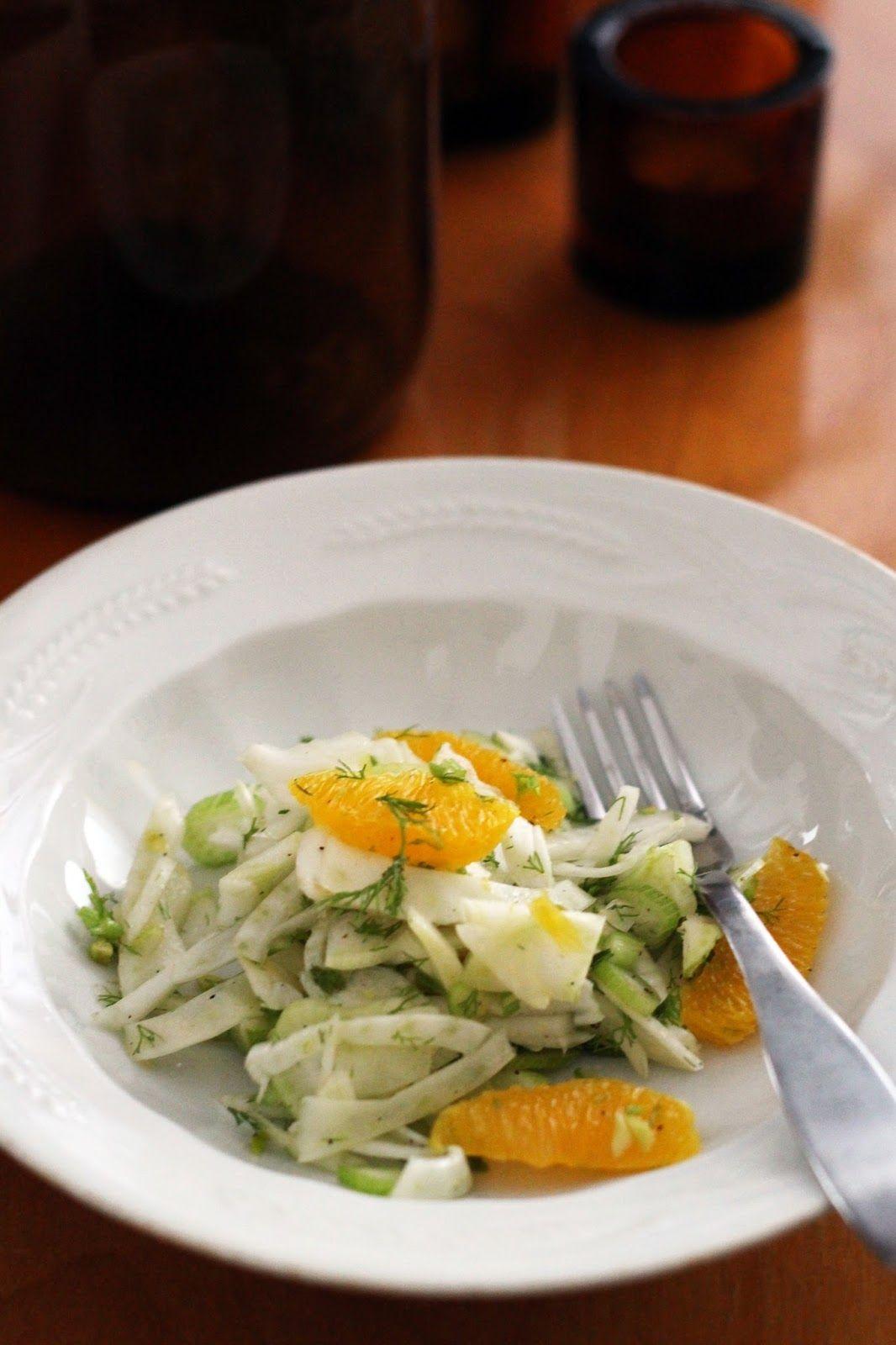 Fenkoli-appelsiinisalaatti: Kipparin morsian