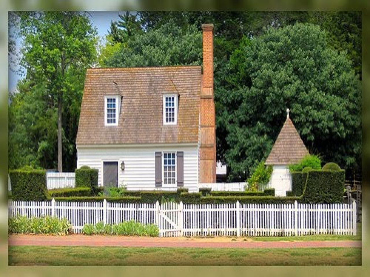 Small Colonial Williamsburg House Plans Early American Homes Colonial House Colonial Williamsburg