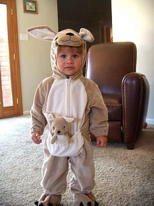 49e9e488c66c Toddler Kangaroo Costume Halloween Costume Winners