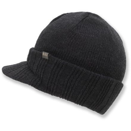 REI Rib-Knit Visor Hat - Men s  bd0c13ae92c