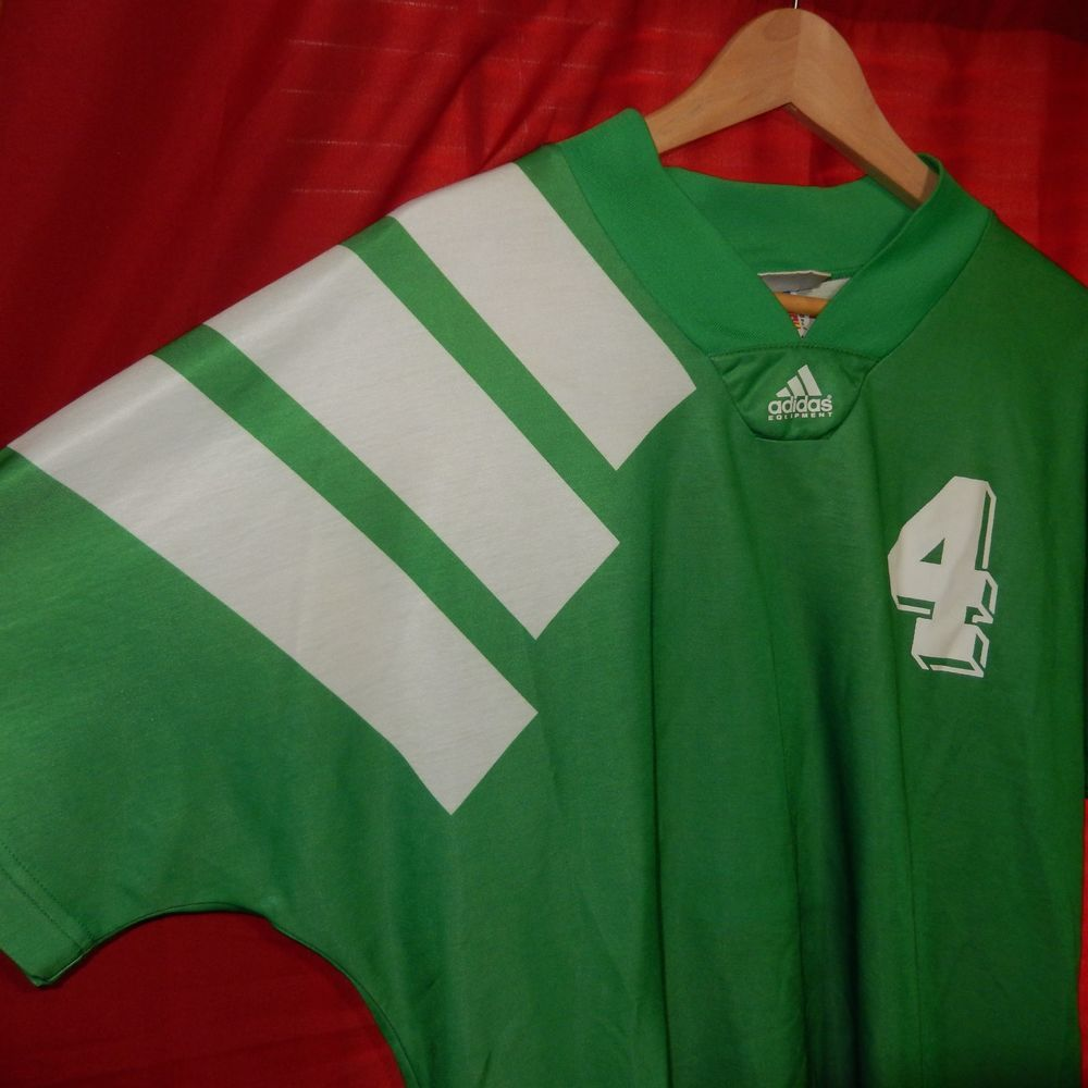 dc6994dbd62 Vintage Adidas Equipment Soccer Jersey Made in the USA Green  4 XL Shirt   adidas  Jerseys
