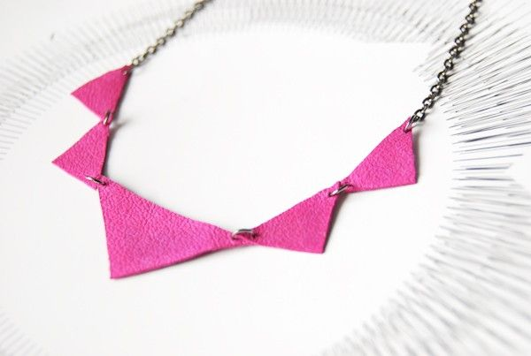 #necklace, #pink