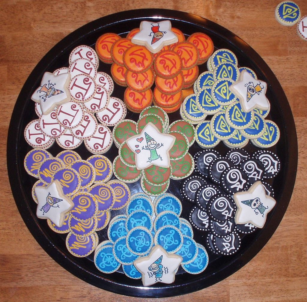 Wizard101 Cookies For Each School (image Only)