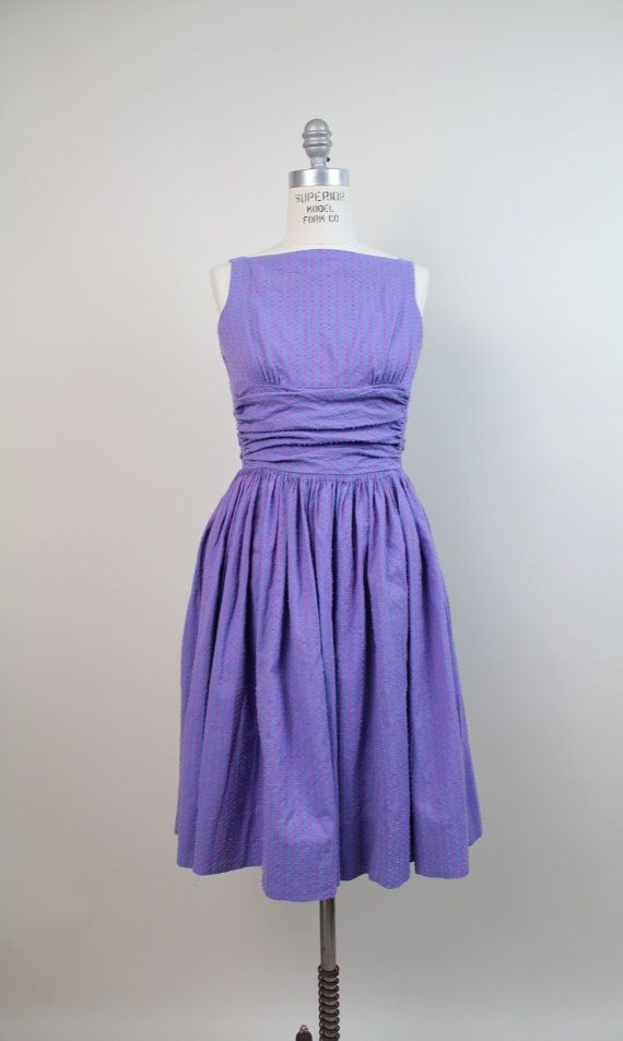 50s vintage Jonathan Logan dress / vintage 1950s by VerseauVintage.